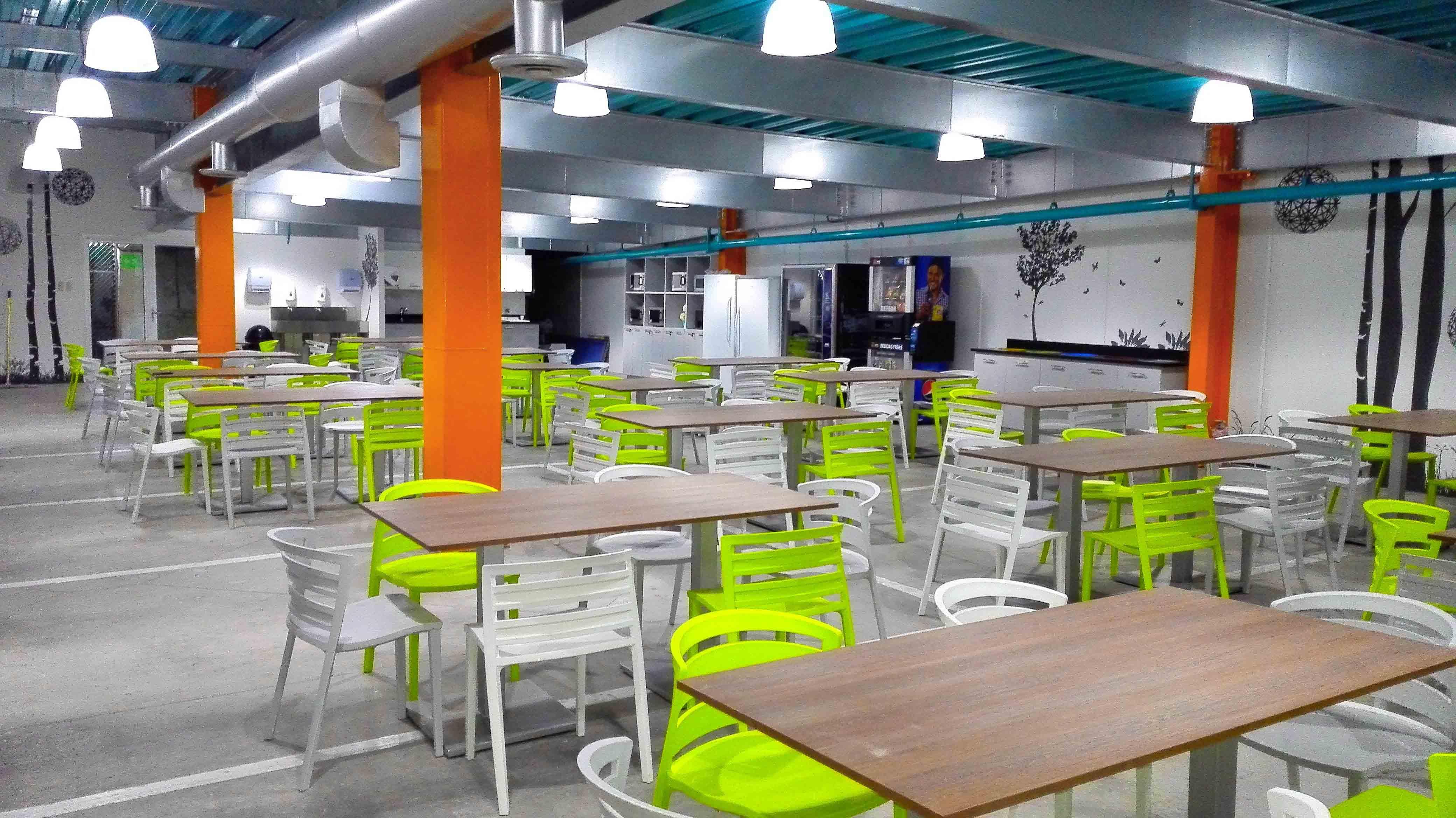 Cafetería en Fábrica de desarrollo de software - Guatemala
