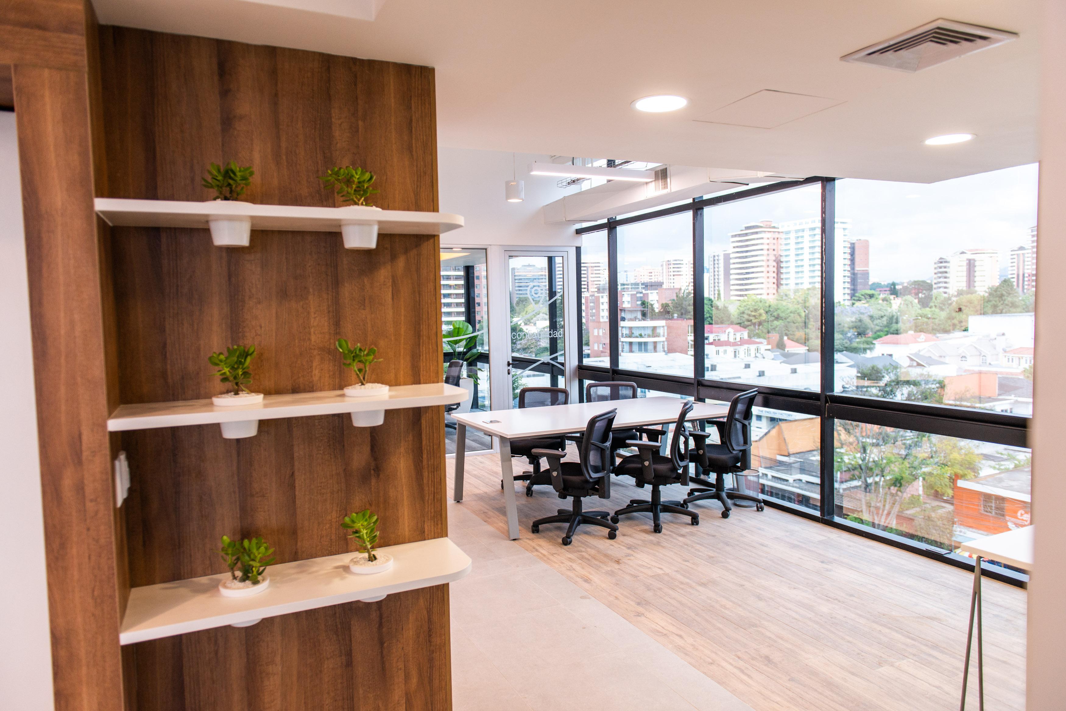 Espacios semi privados para reuniones