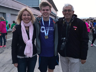 Silverstone 10K Run in aid of Cancer Research UK