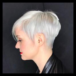 Blonde Pixie Cut by Marilyn