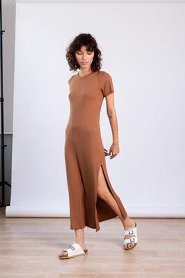 Maxi Vestido Luna Camel