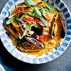 Malaysian Mussel Laksa