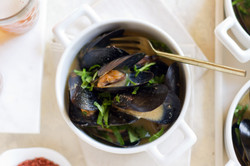 Japanese Miso Mussels Pot