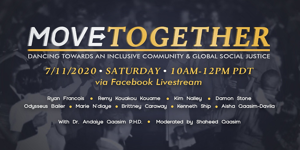 Recommended Event:  MOVE Together ~ Dancing Towards An Inclusive Community & Global Social Justice