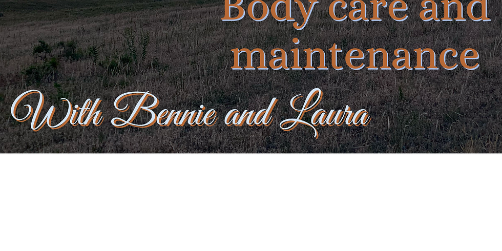 Body Care & Maintenance for Bal & Shag with Bennie & Laura