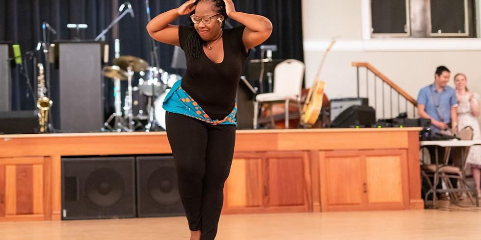 Zambian Dance + Swing: Appreciate, Learn & Grow with Chisomo