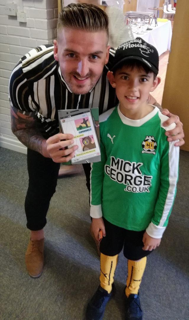 Cambridge United's Wembley promotion hero Liam Hughes liked it!