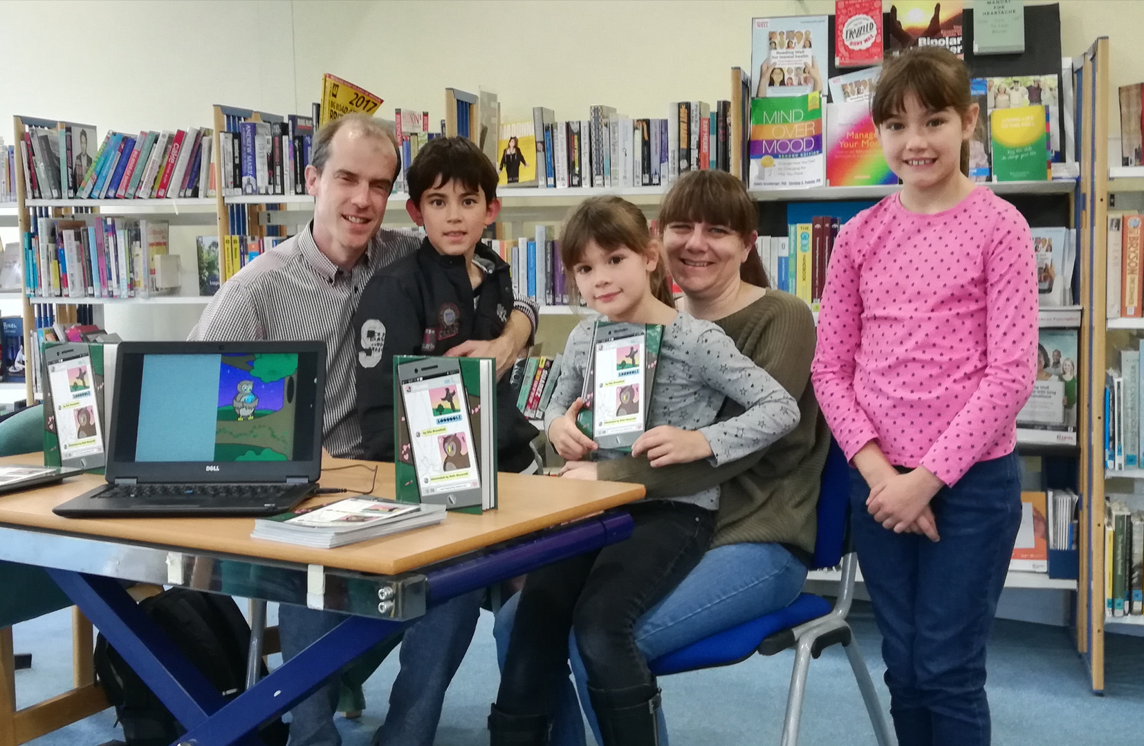 Papworth Library launch