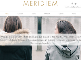 Meridiem Duo Website