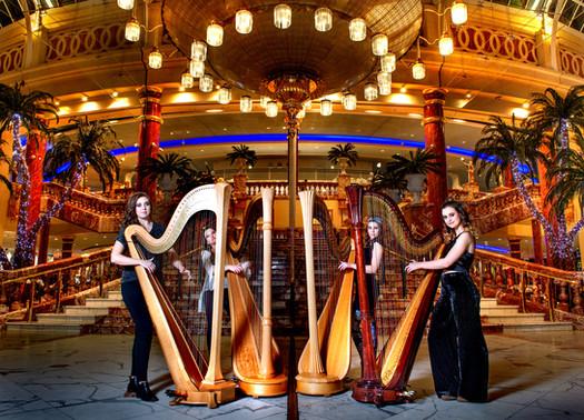 Clouds Harp Quartet