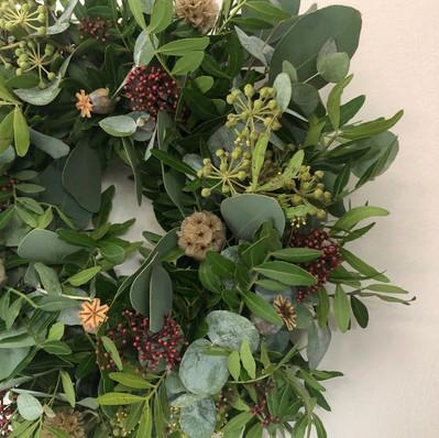 "8"" Wreath - £35"