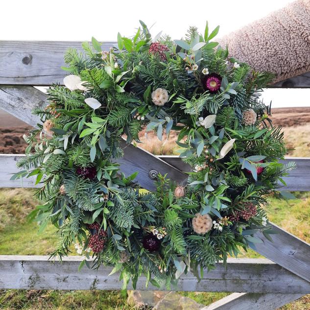 "12"" Wreath - £45"