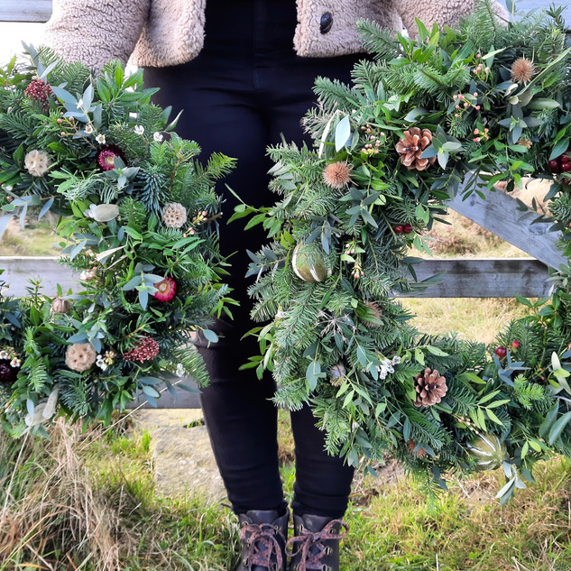 """Our 12"""" and 16"""" Wreaths"""