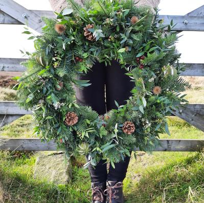 "16"" Wreath - £65"