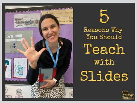 5 Reasons Why You Should Teach Using Slides