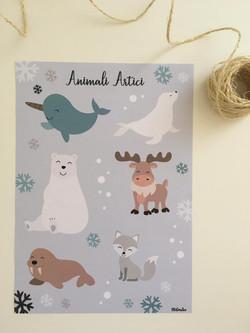 Stampa Animali Artici