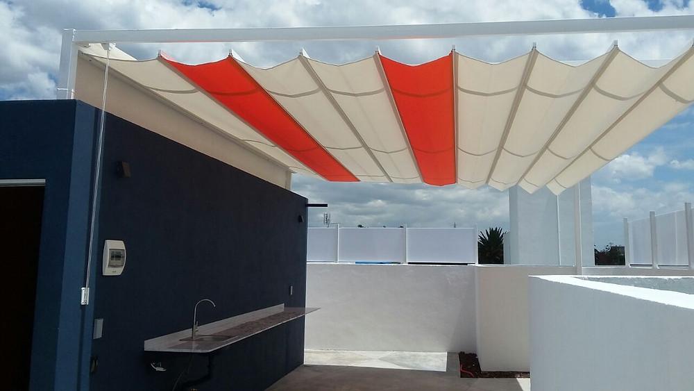 Protección de sol con hermoso diseño a tu manera.