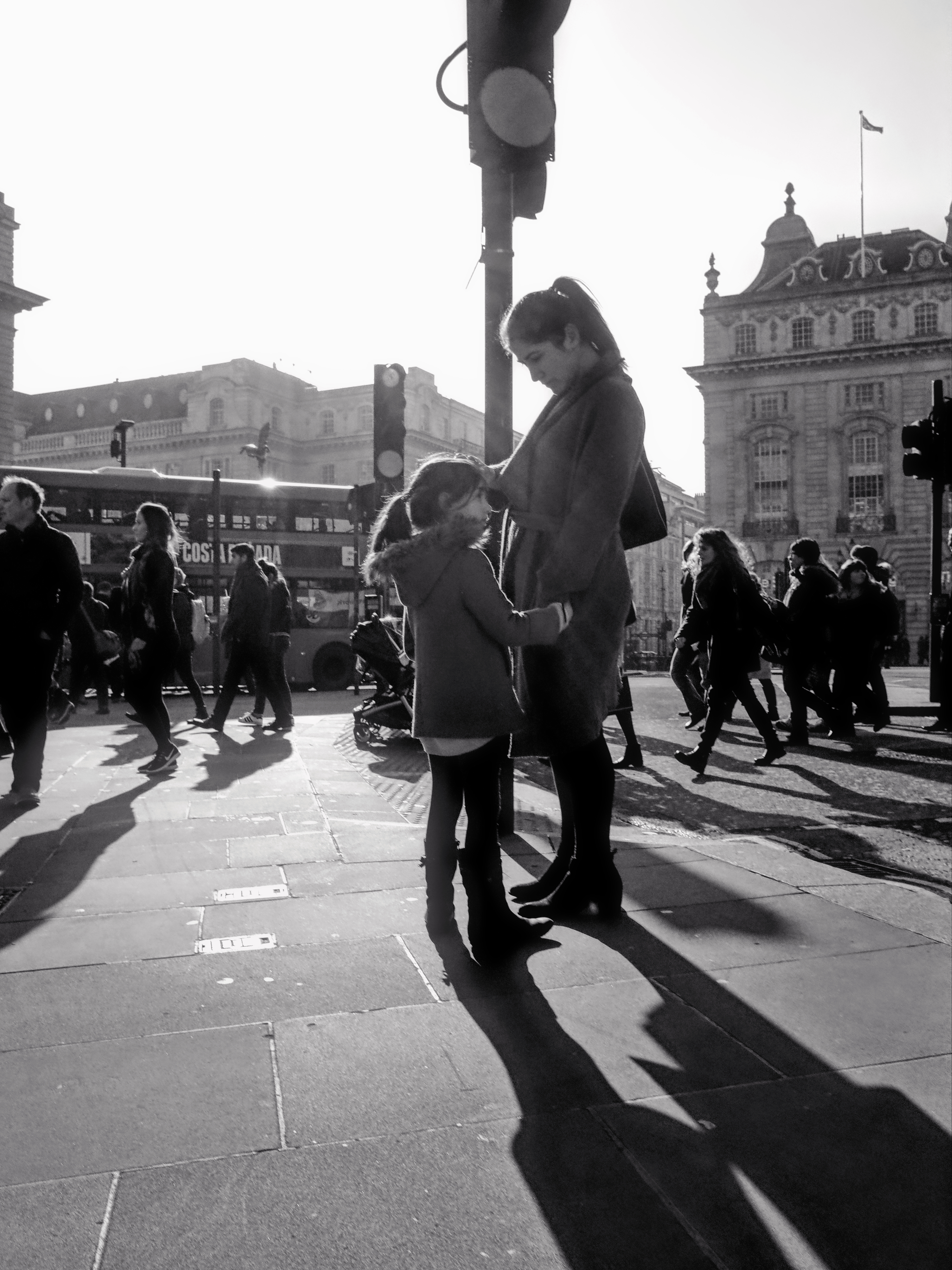 Piccadilly, London, February 2017
