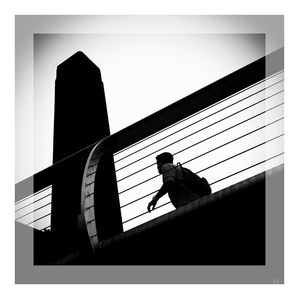 Millennium Bridge and Tate Modern.JPG