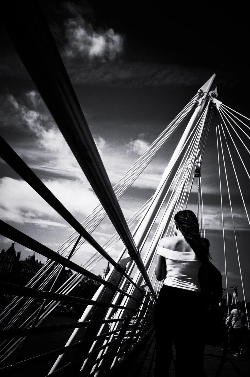Hungerford Bridge, August 2016