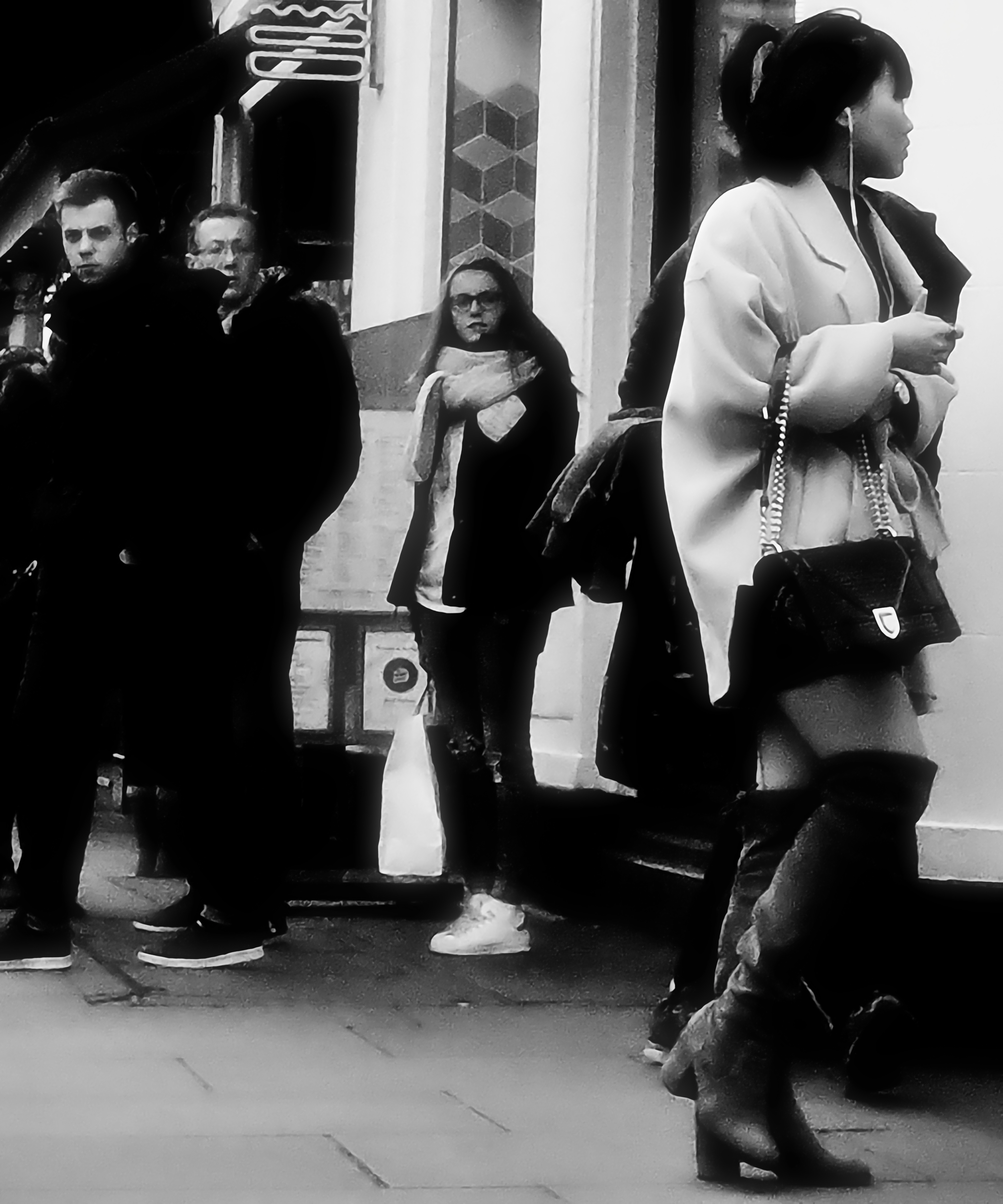 Shaftesbury Ave, London, Feb 2017