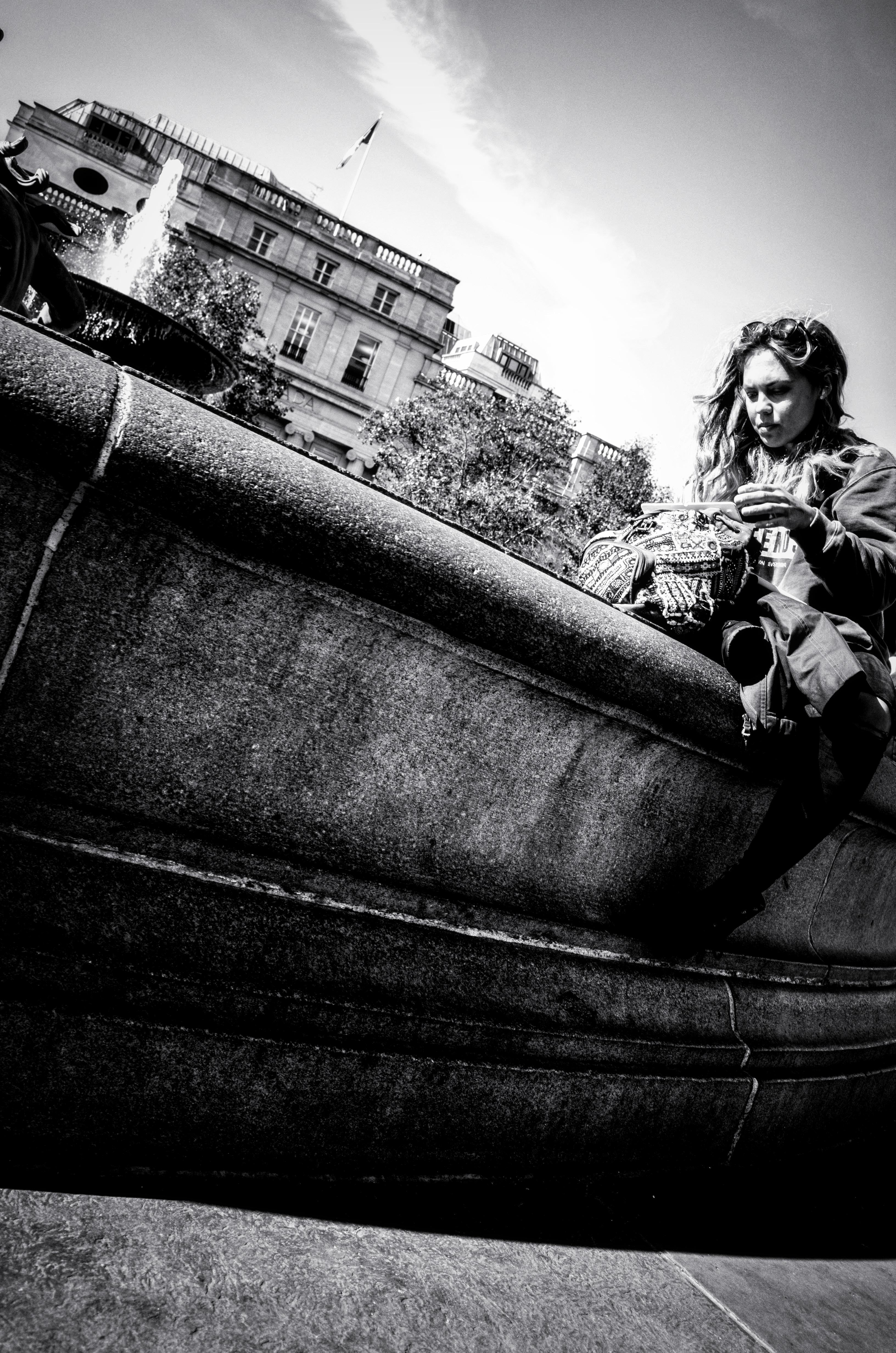 Trafalgar Sq, London, October 2016