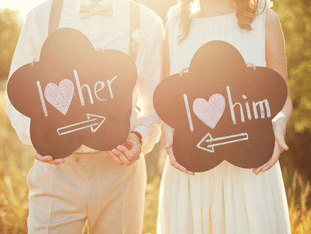 It's all about you, boo; personalised wedding signs for your big day!
