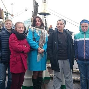 """Экскурсия на фрегат """"Паллада"""" 15.09.16"""