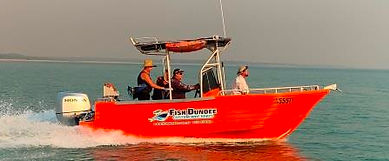 Crew from Darwin hire boats