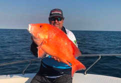 Good red emperor fishing off Dundee Beach