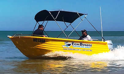 Darwin boat hire estuary fishing