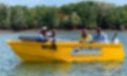 Barra Crabber hire boat Darwin