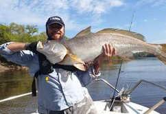 Fishing club jewfish