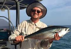 Fishing wide for tuna