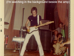 Found a photo that depicts an actual scene from my WASTED novel.  The Who playing at the Grande Ball