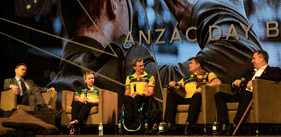 ANZAC Day speaker panel