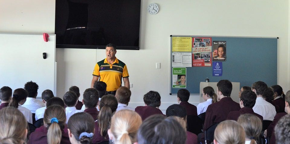 Resilience presentation to schools