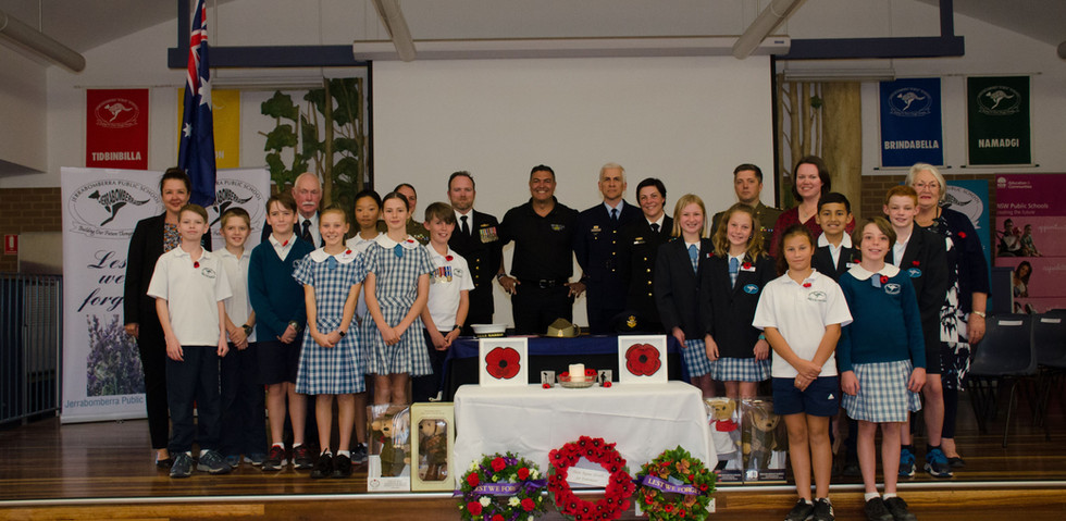 School ANZAC Day presentation