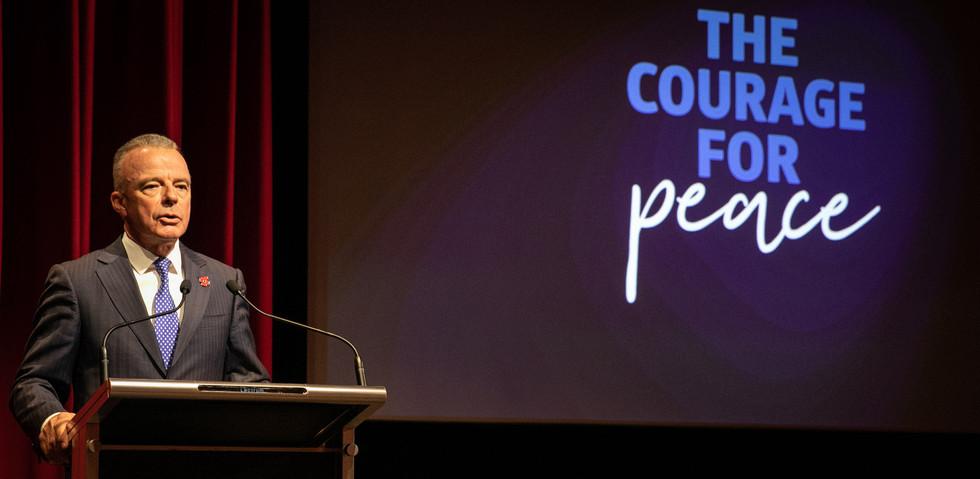 Australian War Memorial 'The Courage for Peace' exhibition