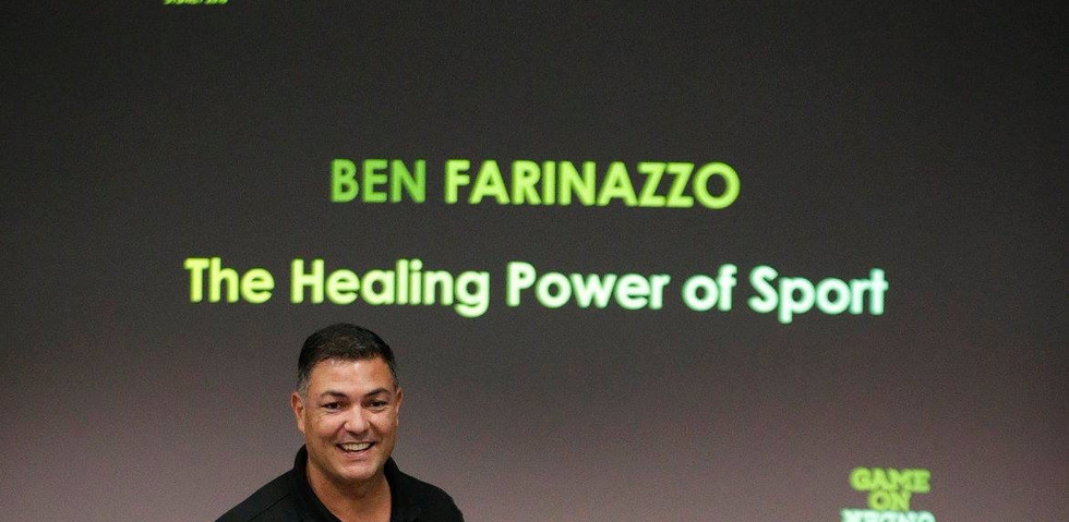Department of Defence 'Healing Power of Sport' presentation