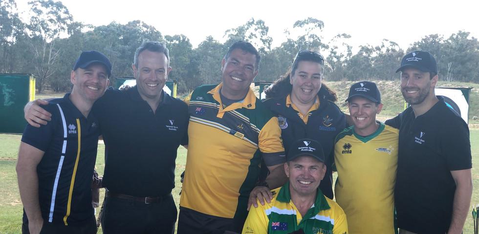 Veteran Sport Australia supporter