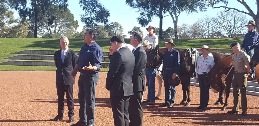Remount Horsemanship Australia supporter