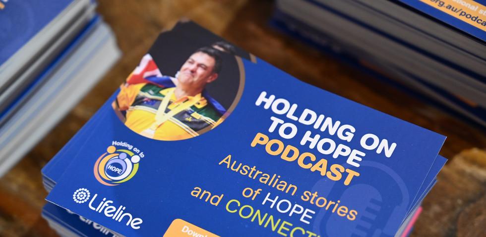 Lifeline 'Holding on to Hope' podcast