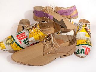 Самая креативная обувь в мире сделана из гофрокартона