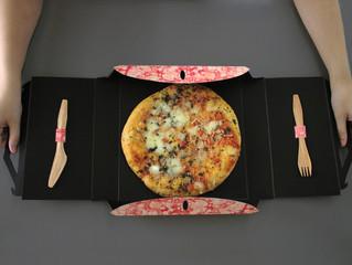 Коробки для пиццы, которые не выбрасывают