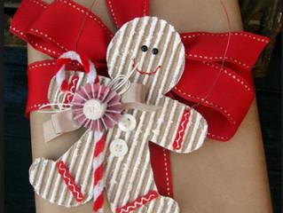 Необычные новогодние подарочные коробки из гофрокартона