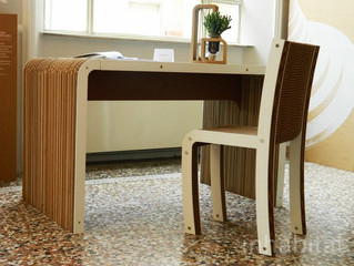 Мебель из гофрокартона покоряет Милан