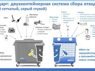 В Москве определились с цветом контейнера для картона