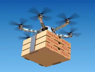 Доставка коробок с едой беспилотниками становится реальностью
