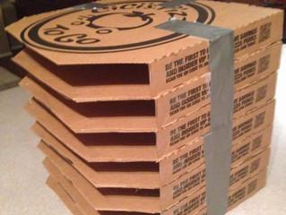 Любите пиццу? Не выбрасывайте картонную коробку! Она может здорово пригодиться так, как вы и не подо